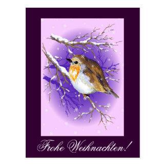Carte Postale Frohe Weihnachten !