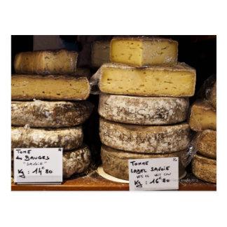 Carte Postale fromages français régionaux d'artisan
