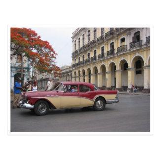 Carte Postale frontière vintage de la Havane