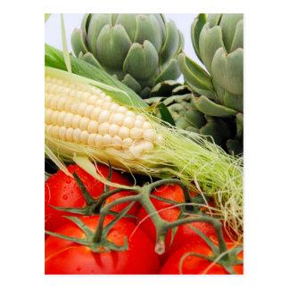 Carte Postale Fruits et légumes