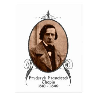 Carte Postale Fryderyk Chopin