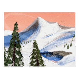 Carte Postale Fuite de montagne