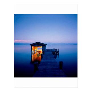 Carte Postale Fuite tranquille Tahoe Nevada de lac
