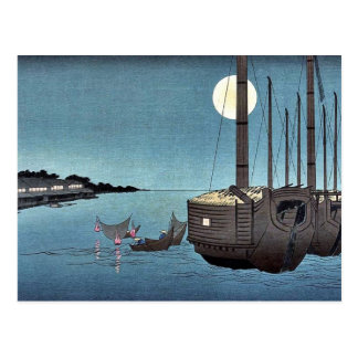 Carte Postale Fukeiga par Ando, Hiroshige Ukiyoe
