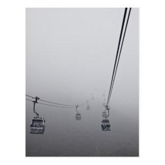 Carte Postale Funiculaire de cinglement de Ngong en brouillard