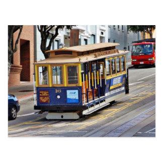 Carte Postale Funiculaires à San Francisco