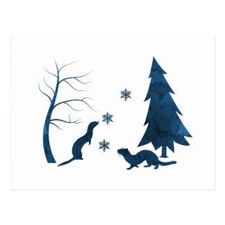 Carte Postale Furets