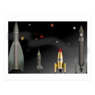 Carte Postale fusée