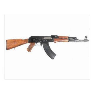 Carte Postale Fusil d'assaut d'AK47