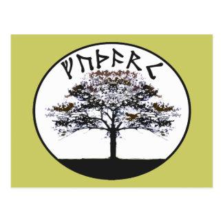 Carte Postale Futhark