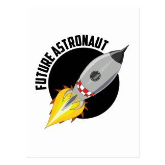 Carte Postale Futur astronaute