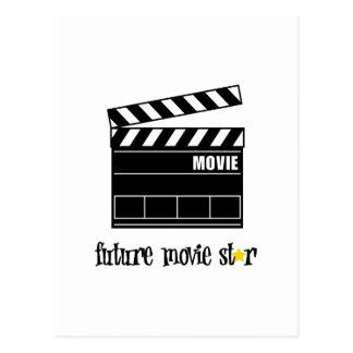 Carte Postale Future star de cinéma