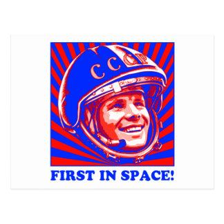 Carte Postale Gagarin ЮрийГагарин