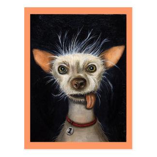 Carte Postale Gagnant du concours laid 2011 de chien