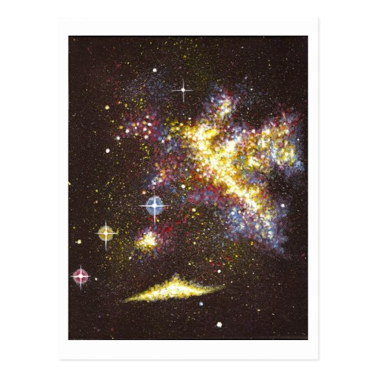 Carte Postale Galaxie