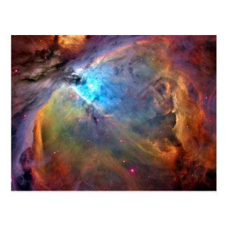 Carte Postale Galaxie de l'espace de nébuleuse d'Orion