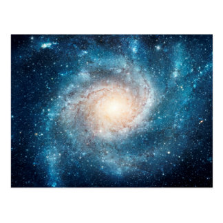 Carte Postale Galaxie en spirale