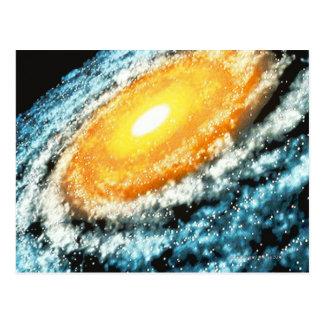 Carte Postale Galaxie en spirale 4