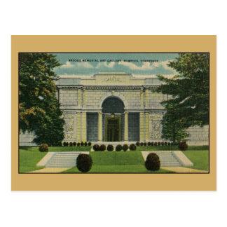 Carte Postale Galerie d'art commémorative de ruisseaux Memphis
