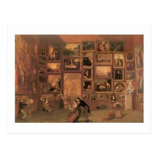 Carte Postale Galerie de Samuel Morse du Louvre