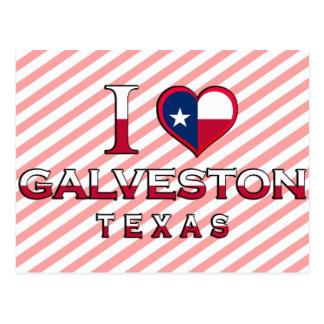 Carte Postale Galveston, le Texas