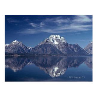 Carte Postale Gamme de montagne grande de Teton