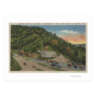 Carte Postale Gap récemment découvert, TN - mémorial de Laura