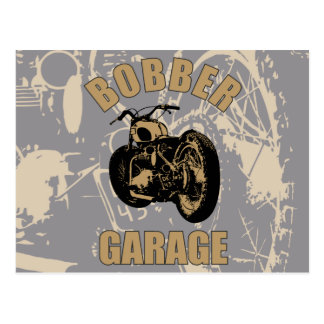 Carte Postale Garage de Bobber