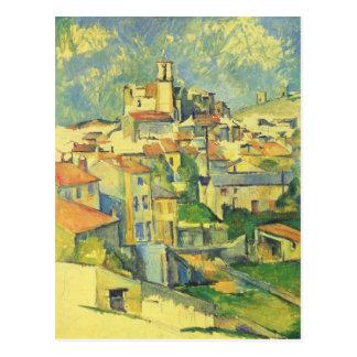 Carte Postale Gardanne par Paul Cezanne