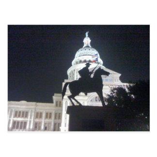 Carte Postale Garde forestière devant TX Capitol.jpg
