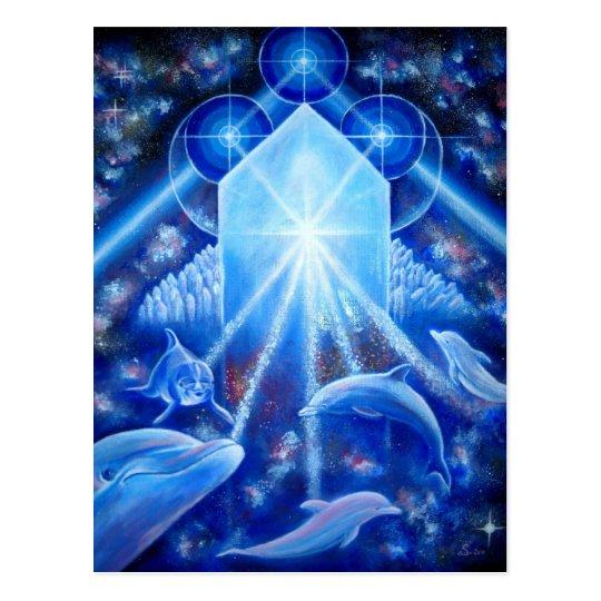 Carte Postale Gardiens du cristal