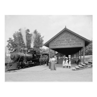 Carte Postale Gare de montagnes de Catskill, 1902