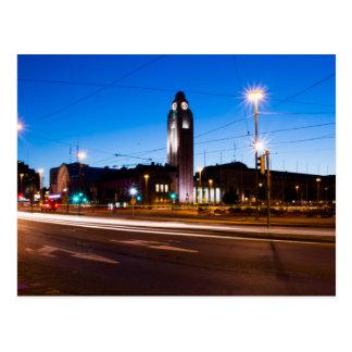 Carte Postale Gare ferroviaire de Helsinki