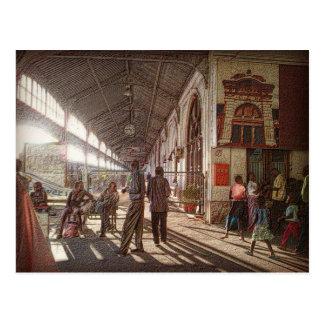 Carte Postale Gare ferroviaire de Maputo