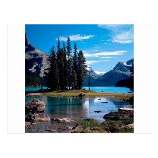 Carte Postale Garez le grand jaspe Alberta Canada d'extérieur