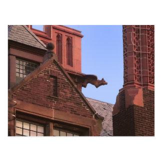 Carte Postale Gargouille de parc de Ginter