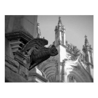 Carte Postale Gargouille d'église