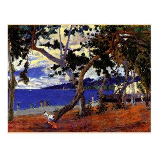 Carte Postale Gauguin - paysage côtier de la Martinique