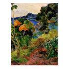 Carte Postale Gauguin - paysage de la Martinique