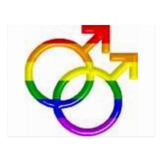 Carte Postale Gay pride
