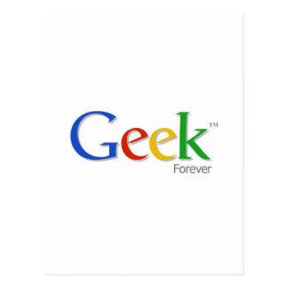 Carte Postale Geek pour toujours
