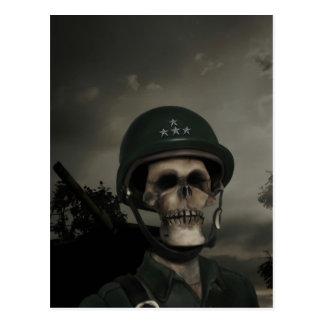 Carte postale générale de la mort