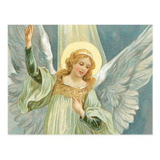 Carte Postale Généreux - ange gardien de générosité