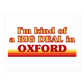 Carte Postale Genre d'I´m d'affaire à Oxford