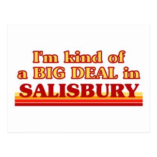 Carte Postale Genre d'I´m d'affaire à Salisbury