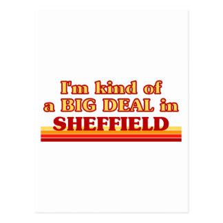Carte Postale Genre d'I´m d'affaire à Sheffield
