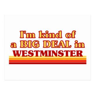 Carte Postale Genre d'I´m d'affaire à Westminster