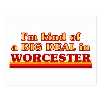 Carte Postale Genre d'I´m d'affaire à Worcester