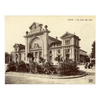 Carte Postale Gentil - La Gare du Sud