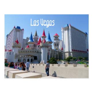 Carte postale gentille de Las Vegas !